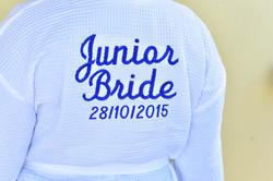 Customised Junior Brides Robe