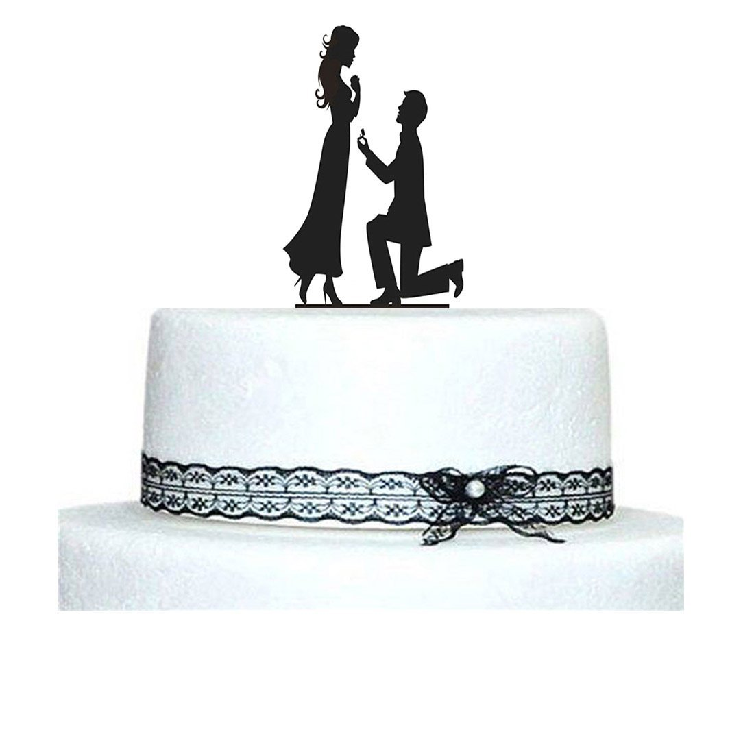 Cake Topper Engagement 2.7