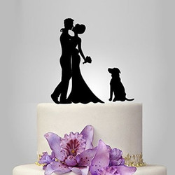 Cake Topper With Dog 2.1