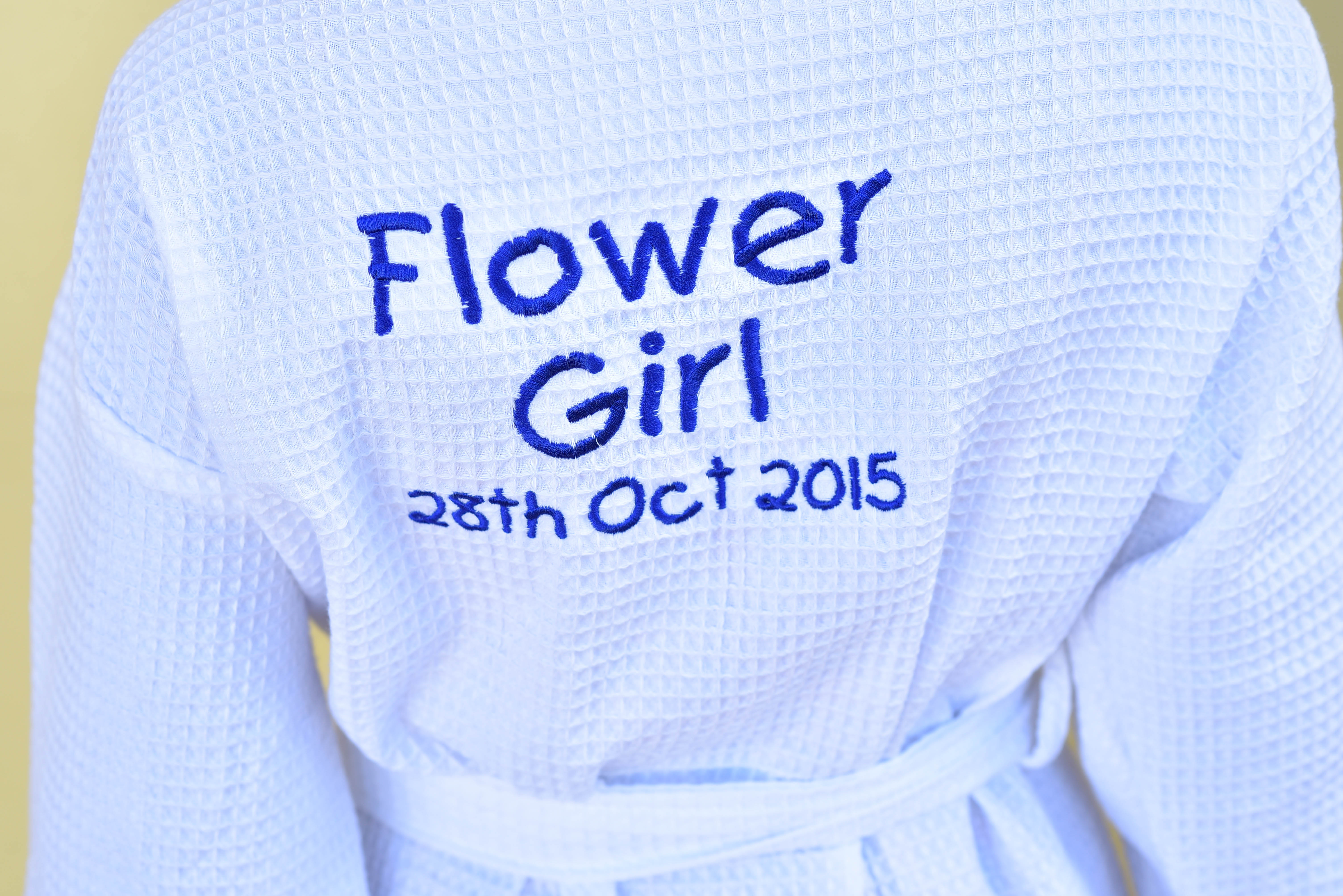 Customised Flower Girl Robes