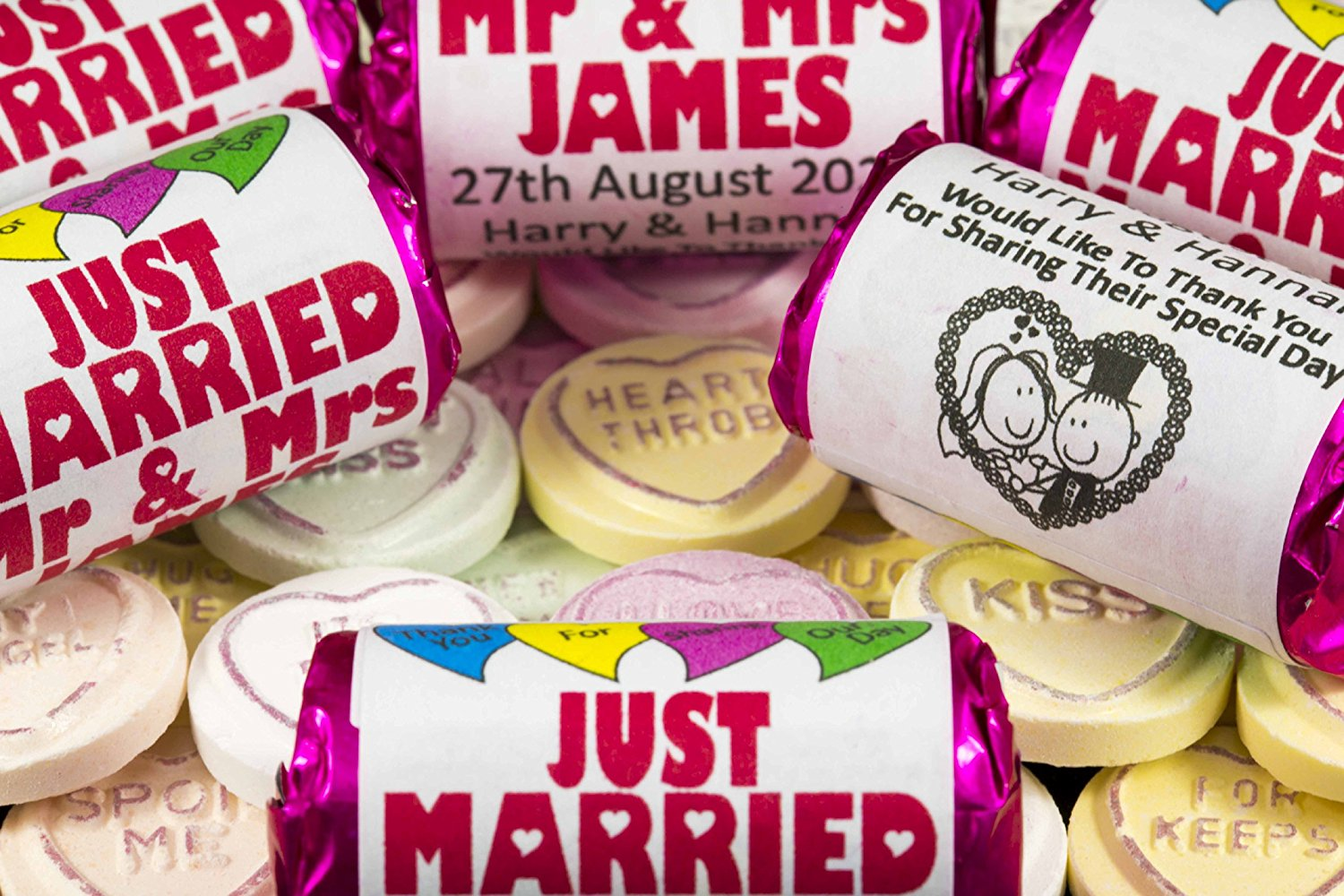 Personalised Wedding Sweets
