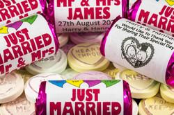 Personalised Wedding Sweets