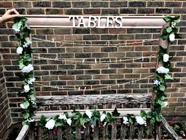 Table Frame Seating Plan