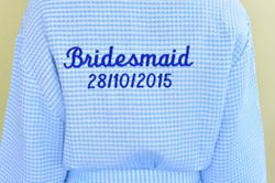Customised Bridesmaids Robes
