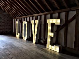 5ft Love Light Up Sign