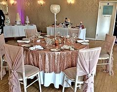 Rose & Blush Pink Table Setting