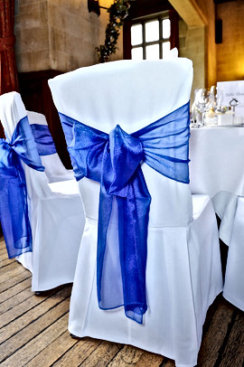 Wedding Blue Chair