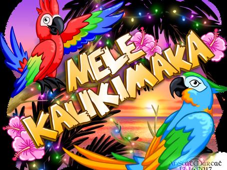 """""""Mele Kalikimaka"""" Christmas E-Card"""
