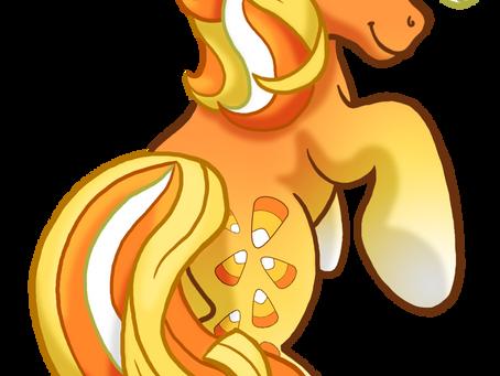 "My Little Pony: Original Character, ""Candy Corn Cascade"""