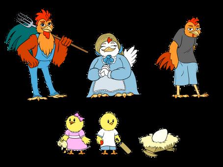 Chicken Family - Concept Art