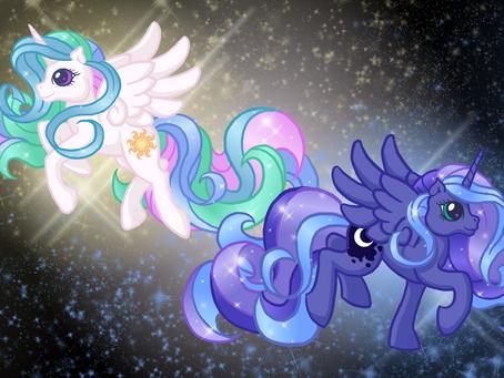 My Little Pony - Friendship is Magic: Celestia and Luna
