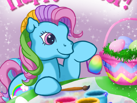 My Little Pony: Easter Graphic