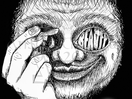 """Eye of the Bee-Holder"" - T-Shirt Design"