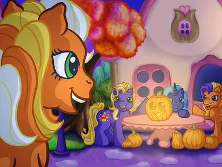 """My Little Pony: """"Come Carve Pumpkins With Us"""""""