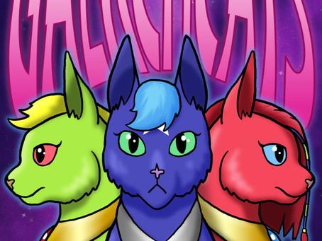 """""""Galacticats"""" Poster"""