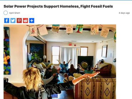 Casa Milagro Solarization Featured in LA Progressive