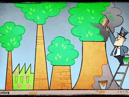 Iberdrola Corruption - Gaslighting and greenwashing go hand in hand
