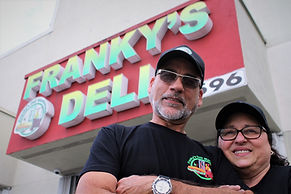Frank and Nan from Franky's Deli Warehouse