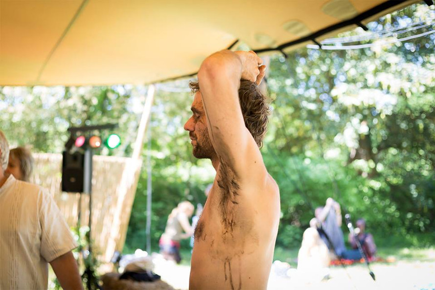 Earth -re-wilding- at Suntribe Festival