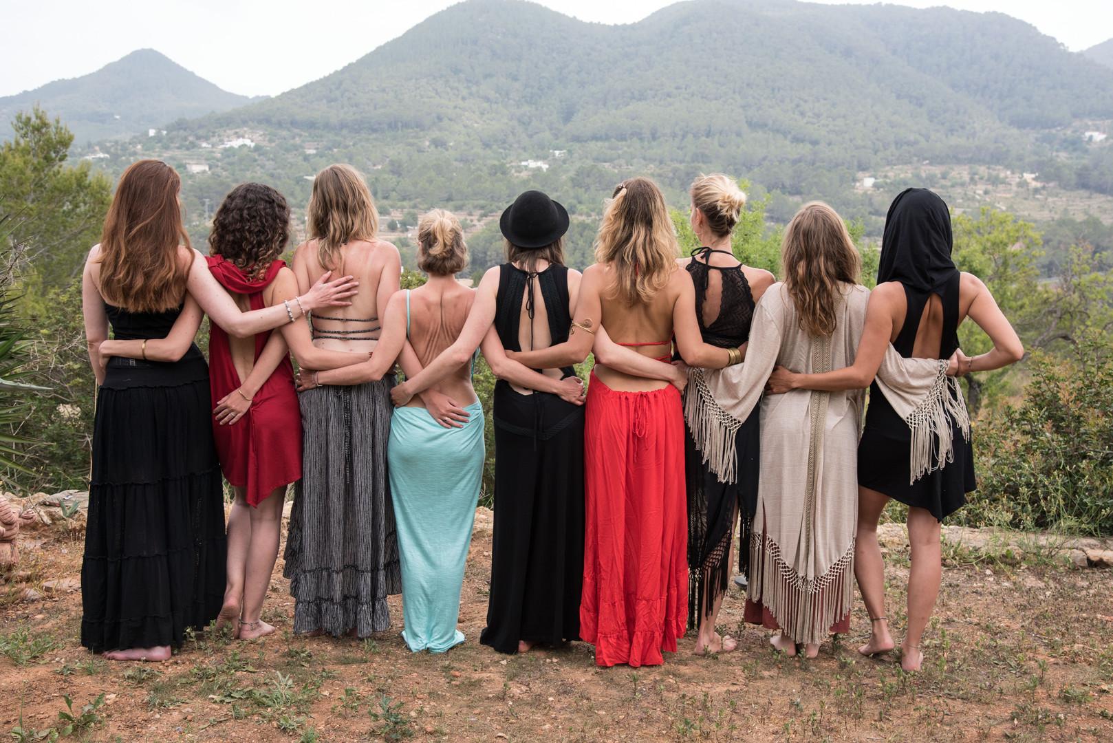 Shining Goddesses