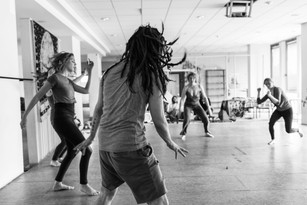 Earth - tribal dance