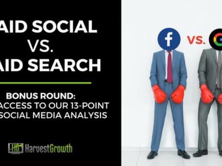 Paid Social vs. Paid Search