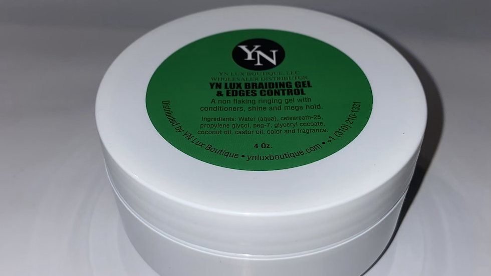 YN LUX BOUTIQUE BRAIDING GEL & EDGES CONTROL