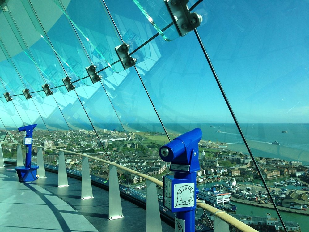 Spinnaker Tower Observation