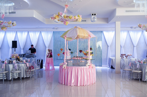 Carousel Table Dessert Display   Floral Passion: Los Angeles ...