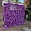 Thumbnail: 8x8 Purple and Lavender Flower Wall rental