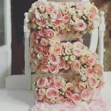Fresh Flower Letters