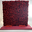 Thumbnail: 8x8 Red Rose Flower Wall Backdrop