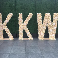 KKW  Free Standing Letters