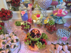 Fruit and Dessert Display