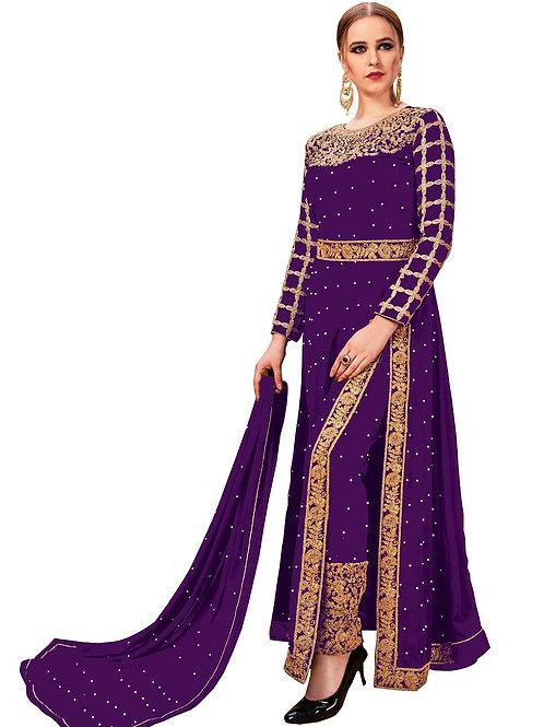 Violet Purple Salwar Suits, New Arrival Salwar Suits, Violet Purple Salwar Suits, Latest Salwar Suits, Heavy Work Suits