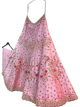 Buy Banglori Silk Pink Bollywood Fancy Lehenga Choli