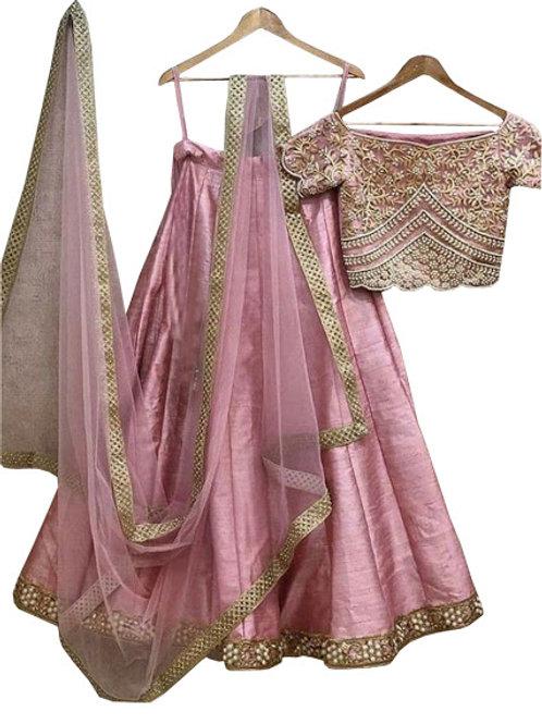 latest lehenga, new collection, pink , under 1500, casual, party wear, designer,