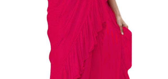 Buy Georgette Pink Fancy Replica Saree