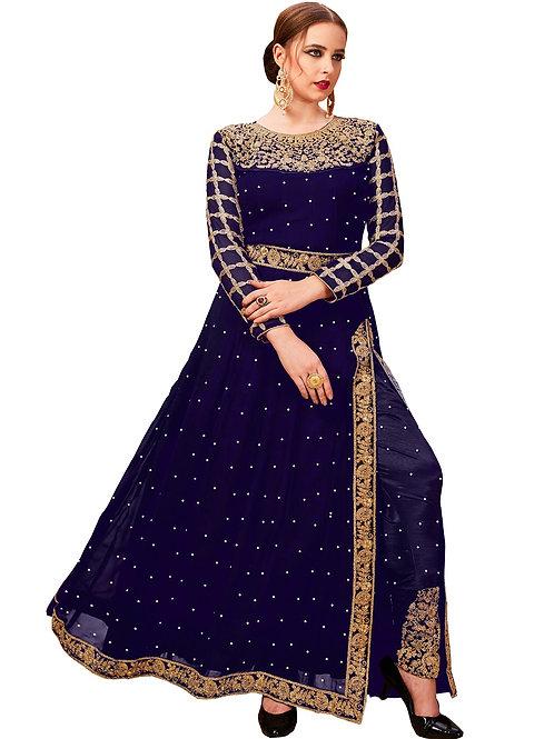 Blue Salwar Suits, New Arrival Salwar Suits, Blue Salwar Suits, Latest Salwar Suits, Heavy Work Suits, Long Suits