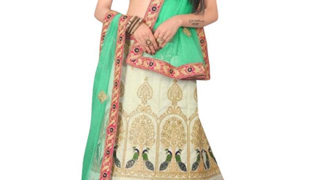 Buy Banglori Silk Pink Lehenga Choli