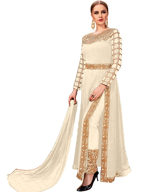White Salwar Suits, New Arrival Salwar Suits, White Salwar Suits, Latest Salwar Suits, Heavy Work Suits, Long Suits