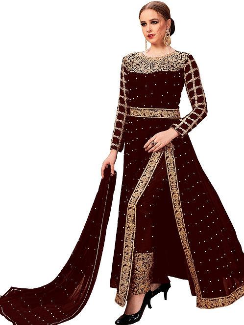 Maroon Salwar Suits, New Arrival Salwar Suits, Maroon Salwar Suits, Latest Salwar Suits, Heavy Work Suits, Long Suits