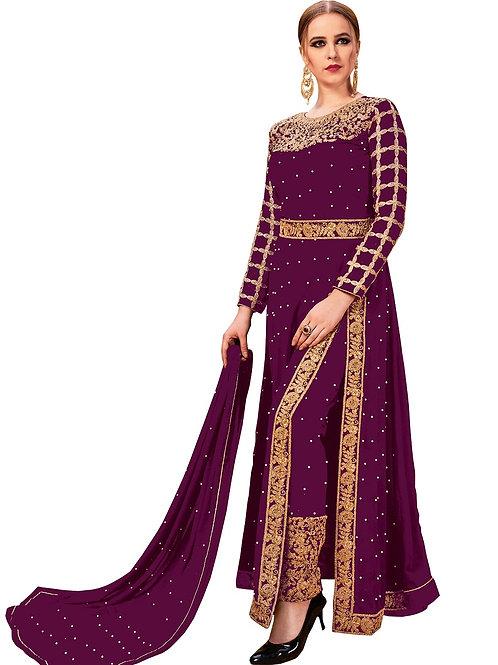 Purple Salwar Suits, New Arrival Salwar Suits, Purple Salwar Suits, Latest Salwar Suits, Heavy Work Suits, Long Suits