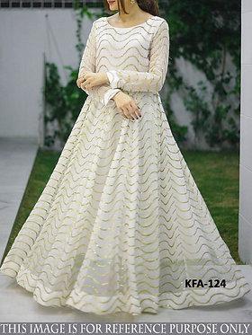 Buy New Stylish Designer Floor Length Georgette Gown
