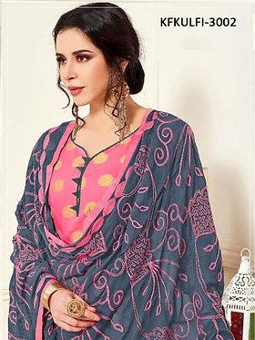 Kaavi Fab Stylish Banarasi Top And Cotton Bottom Dress Material