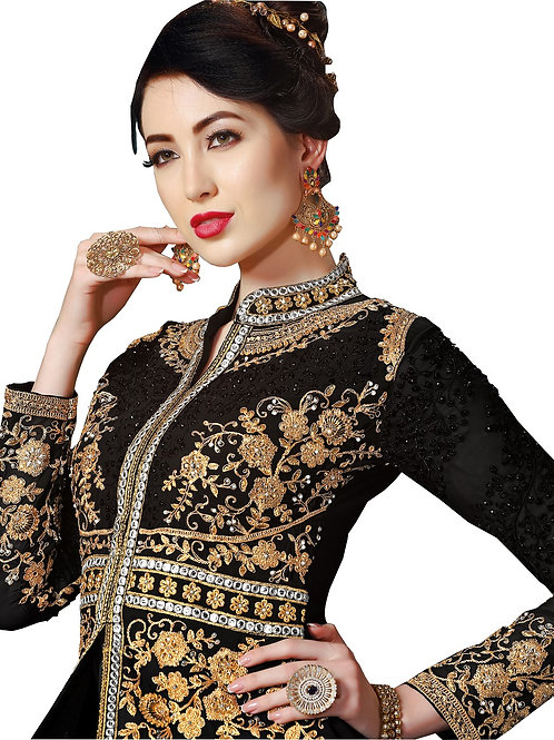 Black Salwar Suits, New Arrival Salwar Suits, Black Salwar Suits, Latest Salwar Suits, long Suits, Anarkali  Suits