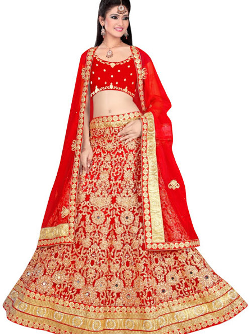 latest collection, orange lehenga choli, embroidery work, high quality, bride collection