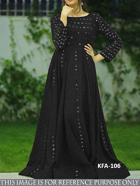 Buy New Latest Designer Floor Length Georgette Gown