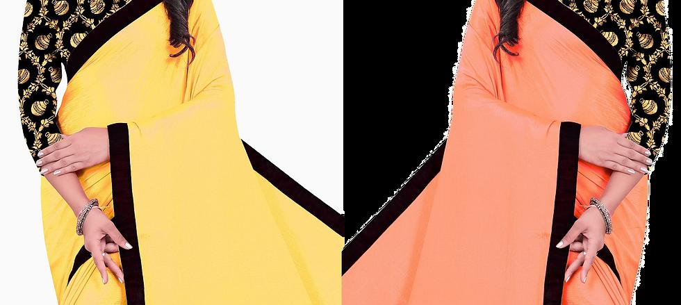Latest designed saree