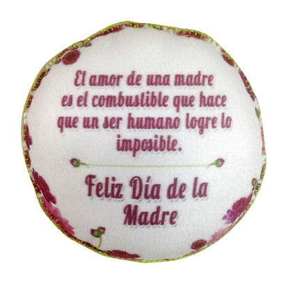 ALMOHADA PERSONALIZADA DIA DE LA MADRE